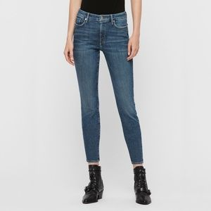 ALL SAINTS Grace Mid-Rise Skinny Jeans